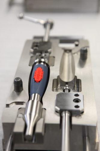 Mécanique de précision moule de surmoulage