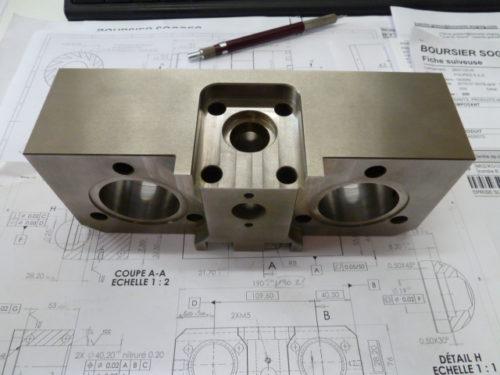 Mécanique de précision fabrication de moules
