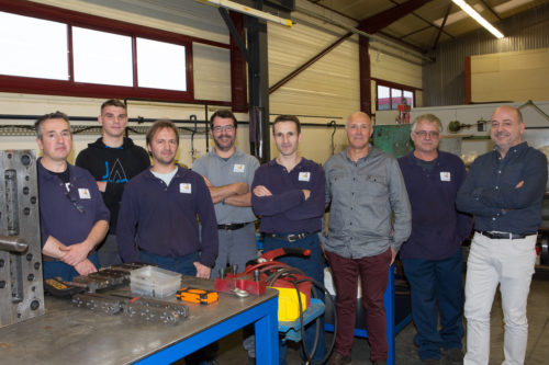 fabrication de moules : Equipe méca
